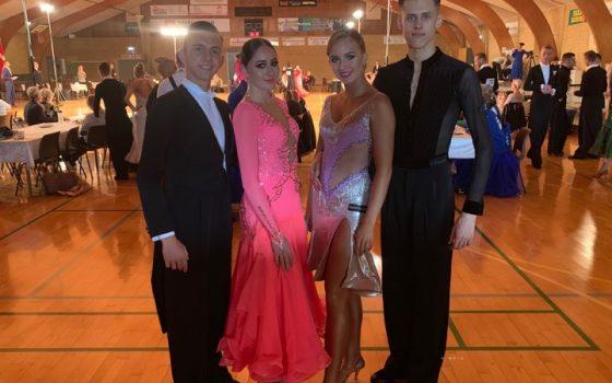Cassandra & Sergey skal til EM og VM
