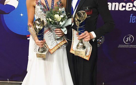 Mie & Sasha vinder turnering i Tyumen igen :-)