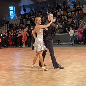 Sergie & Cassandra til EM i 10 dans